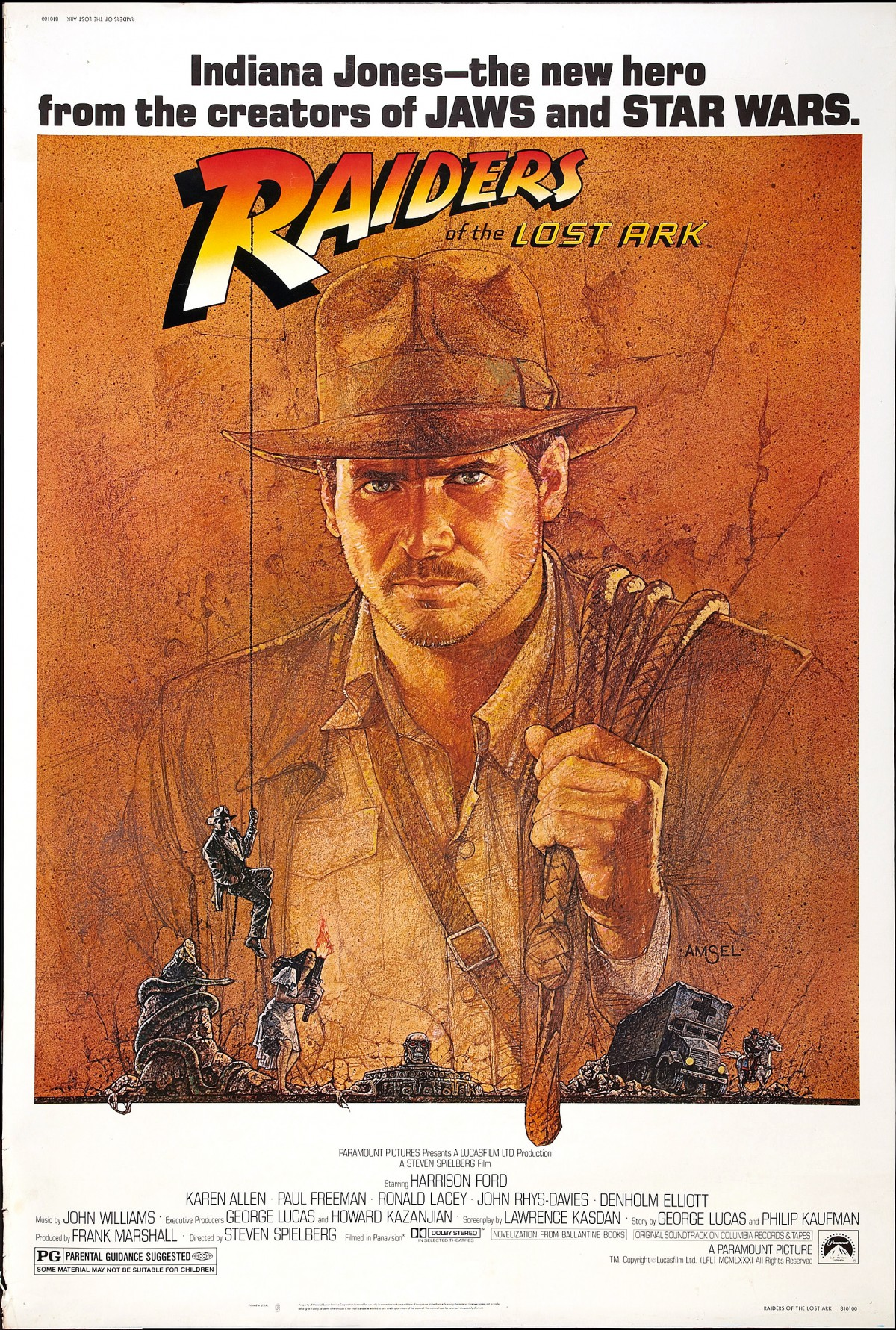 26. Raiders of the Lost Ark (1981)