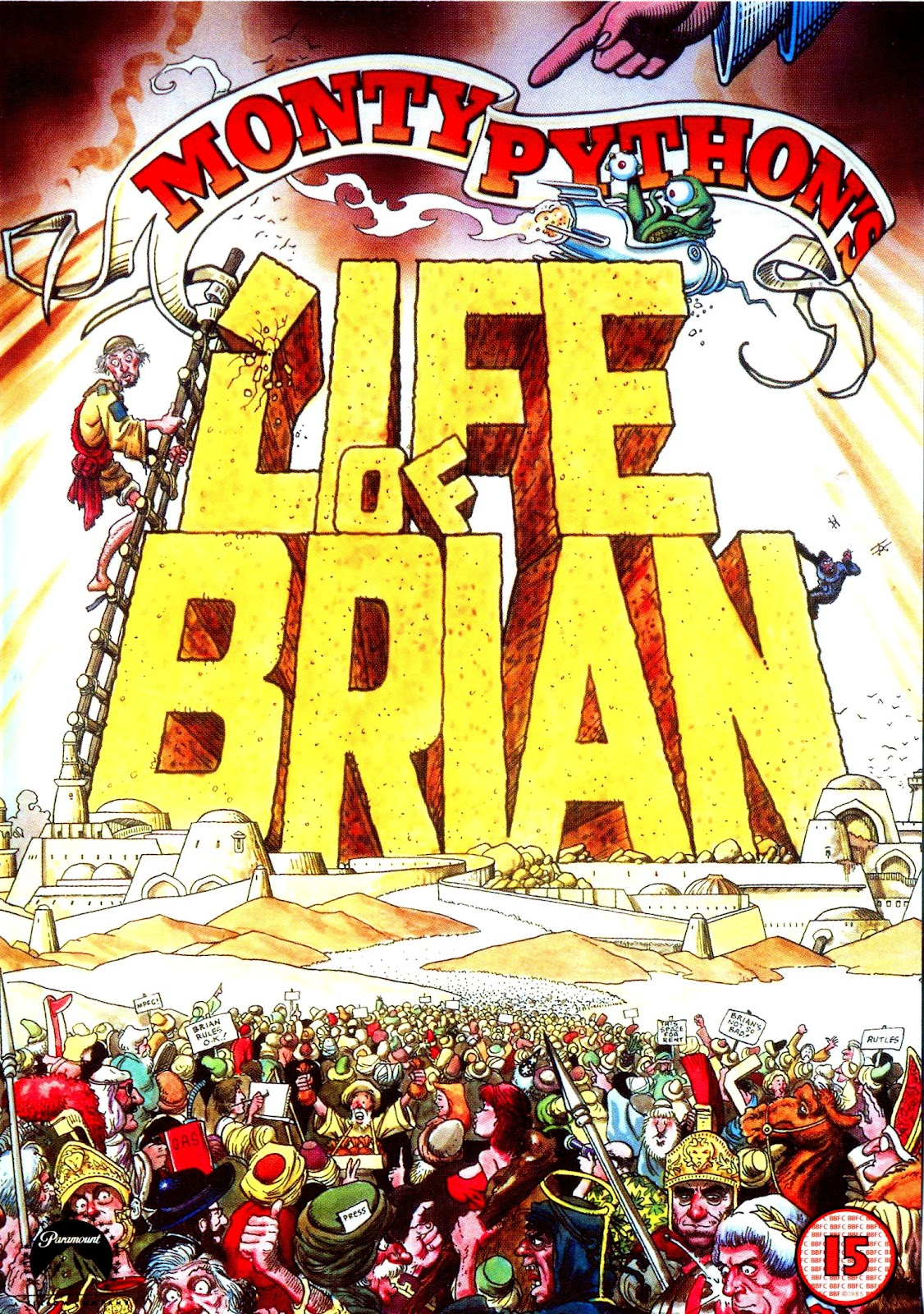 31. Monty Python's Life of Brian (1979)