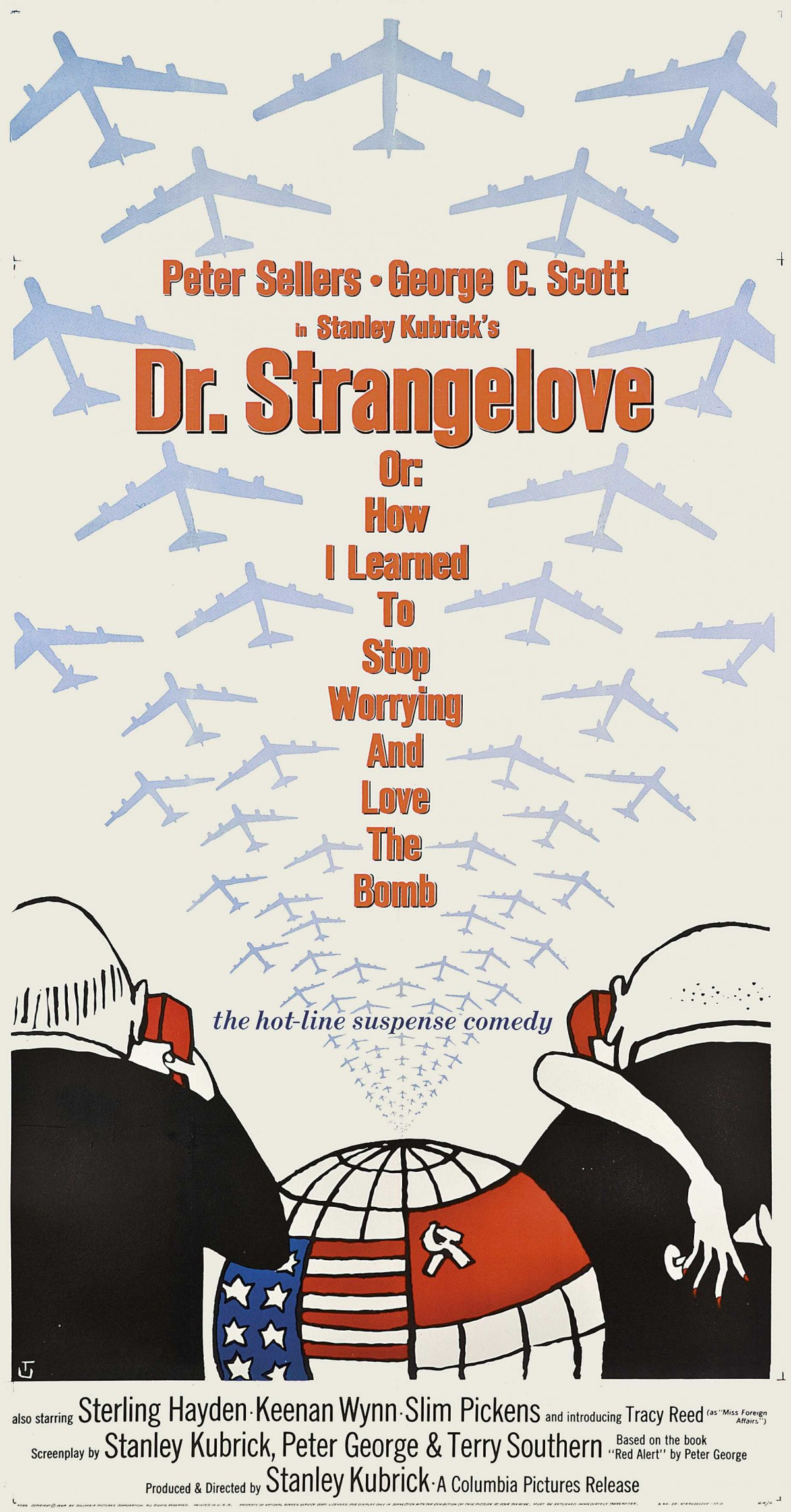 37. Dr. Strangelove or how I Learned to Stop Worrying and Love the Bomb (1964)