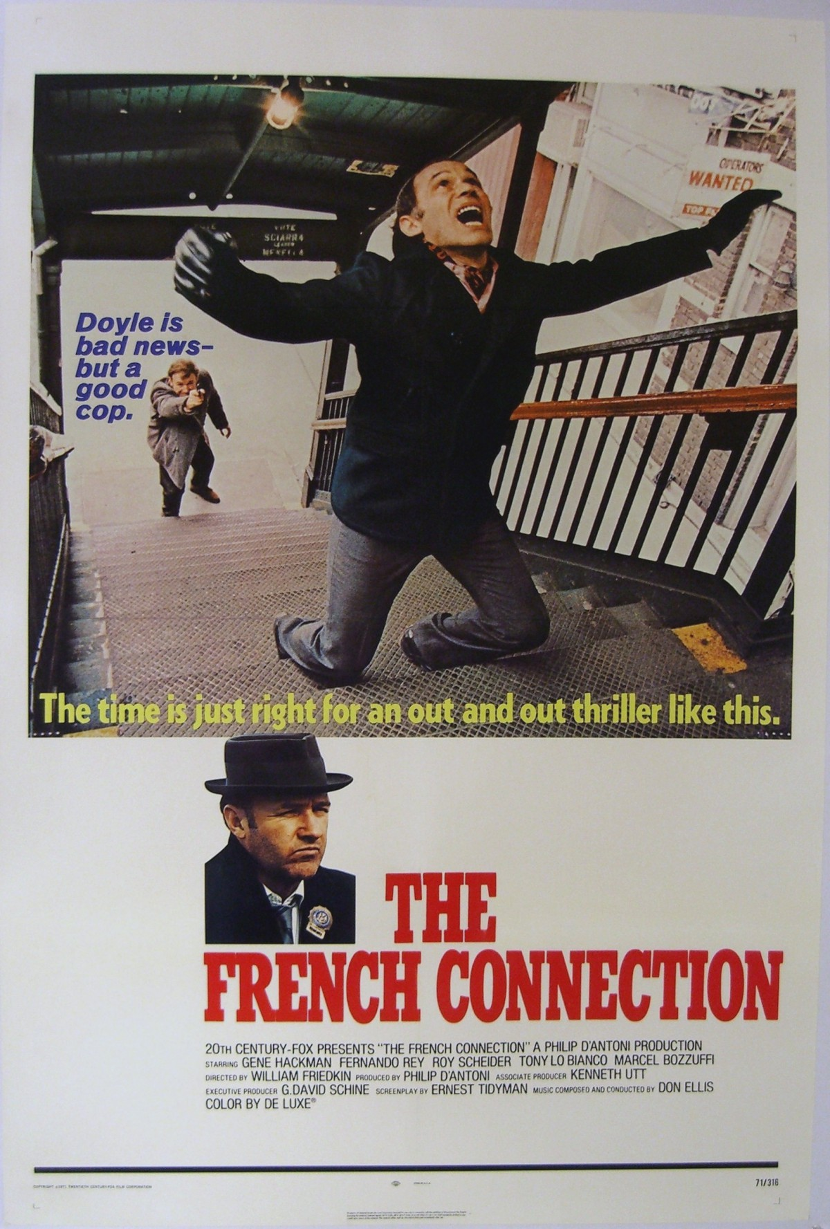 88. The French Connection (1971)