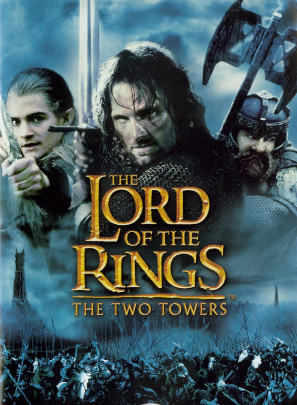 90. Lord of the Rings - The Two Towers (2002)