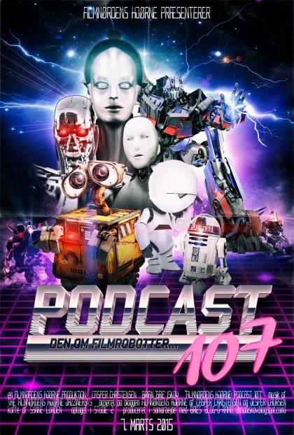 Podcast 107 (Den om filmrobotter...)