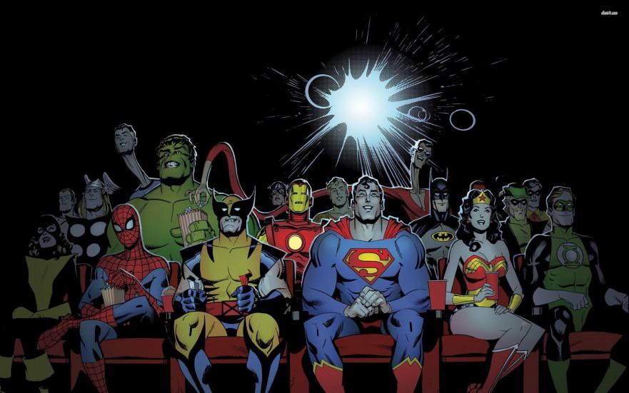 superhelte og skurke
