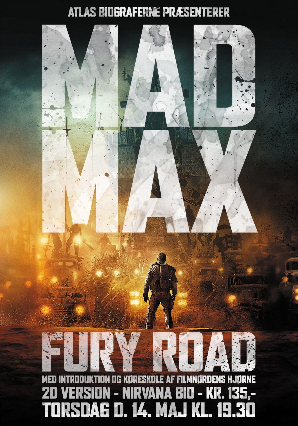 Poster for Mad Max Fury Road aften