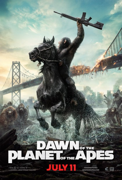 Dawn of the Planet of the Apes / Abernes planet: revolutionen (2014)