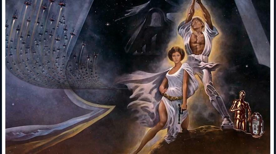 Star Wars / Stjernekrigen (1977)