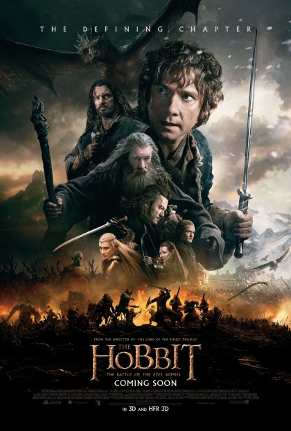 Hobbit: The Battle of the Five Armies, The / Hobbitten: Femhæreslaget (2014)