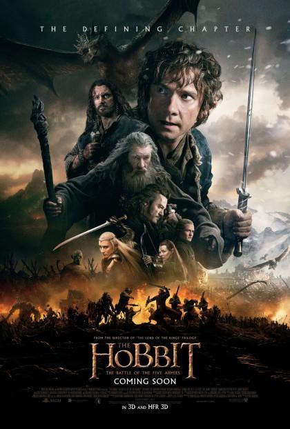 Hobbit: The Battle of the Five Armies, The / Hobbitten: Femhæreslaget (2014)