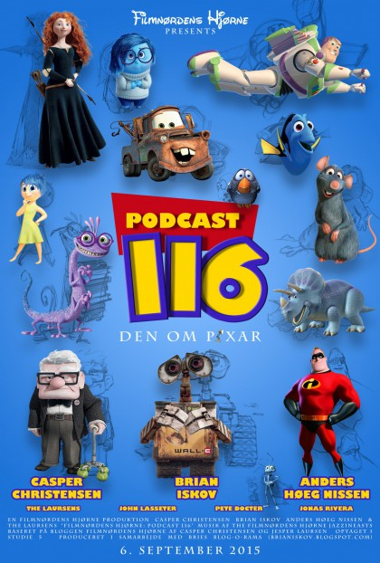 Podcast 116 (Den om Pixar...)