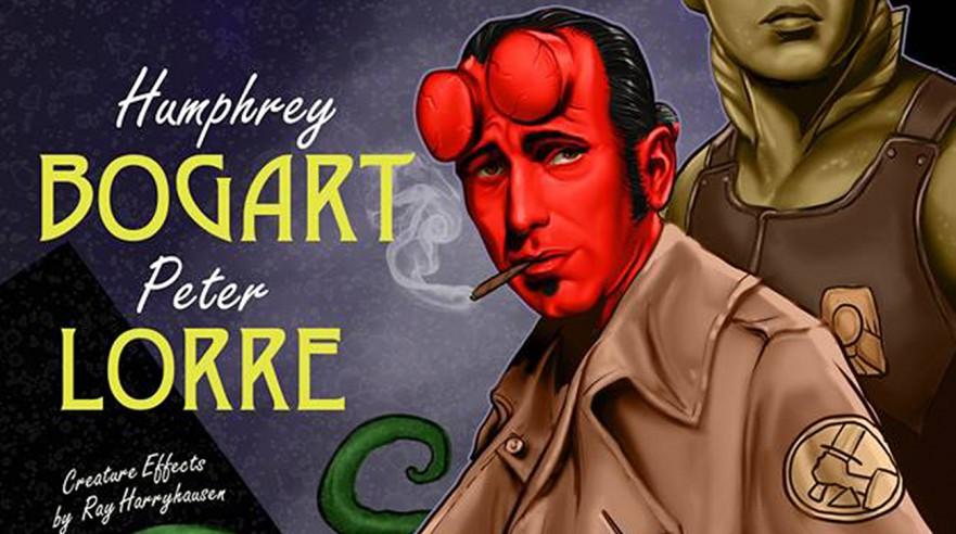 Humphrey Bogart er... Hellboy!