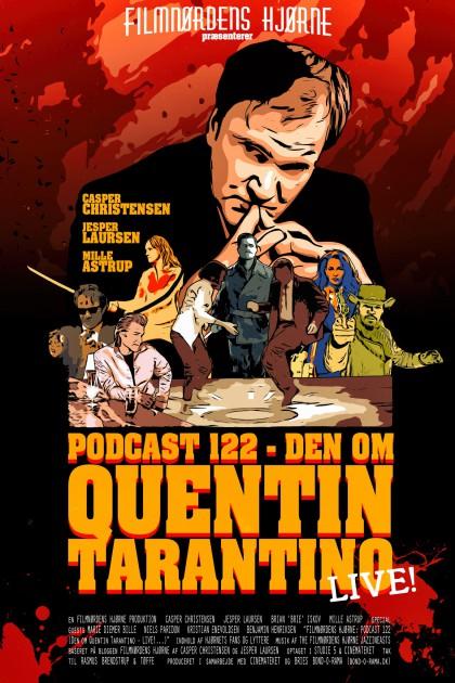 Podcast 122 (Den om Quentin Tarantino - LIVE!...)