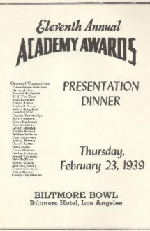 11th Academy Awards (program)