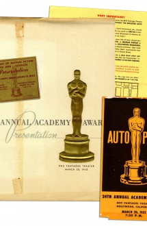 24th Academy Awards (program)