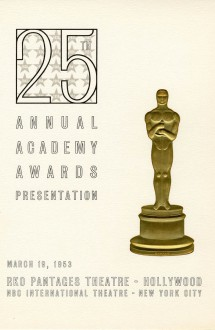 25th Academy Awards (program)