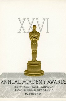 26th Academy Awards (program)