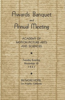4th Academy Awards (program)