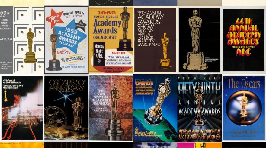 Alle Oscarplakater gennem årene