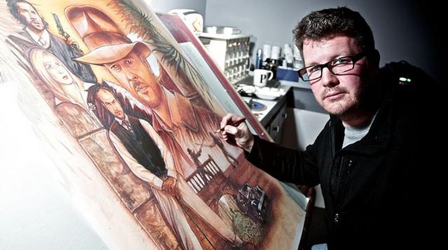 Paul Shipper og jagten på det forsvundne filmplakatdesign