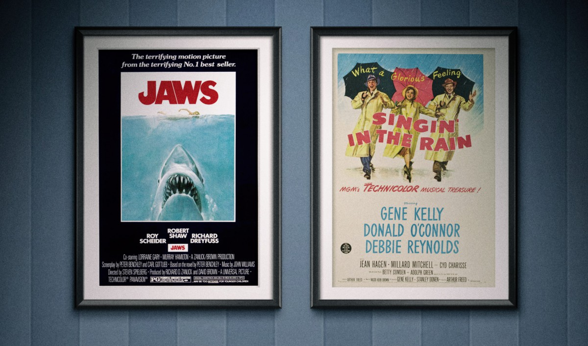 Podcast128 - Jaws - Singin' in the Rain