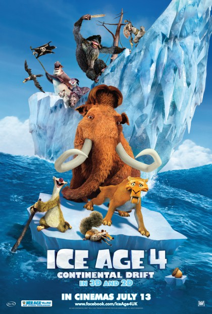 Ice Age: Continental Drift / Ice Age 4: På gyngende grund (2012)