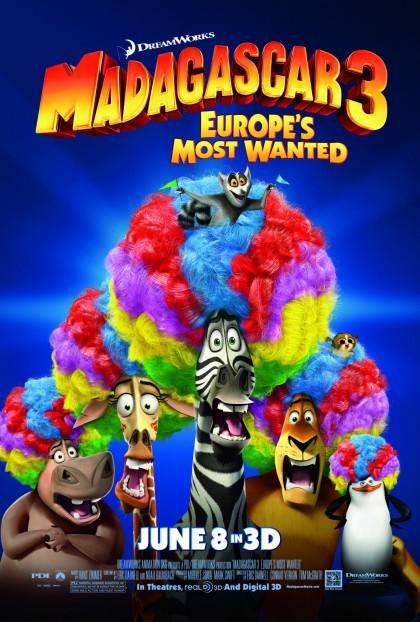 Madagascar 3: Europe's Most Wanted / Madagascar 3 (2012)