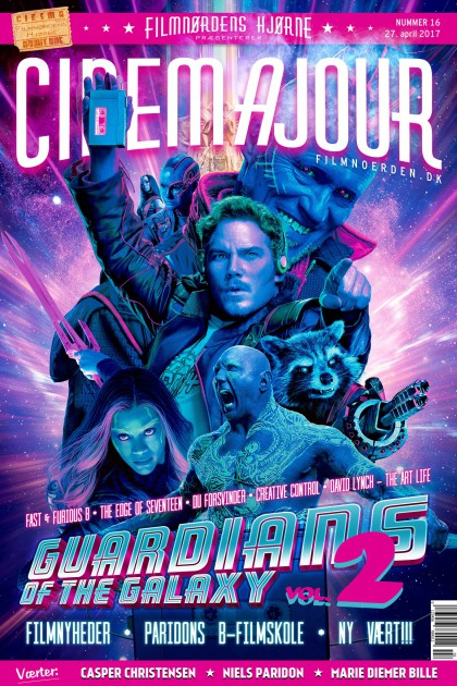 Cinemajour nr. 16 (Guardians of the Galaxy Vol. 2, Fast & Furious 8, The Edge of Seventeen, m.m.)