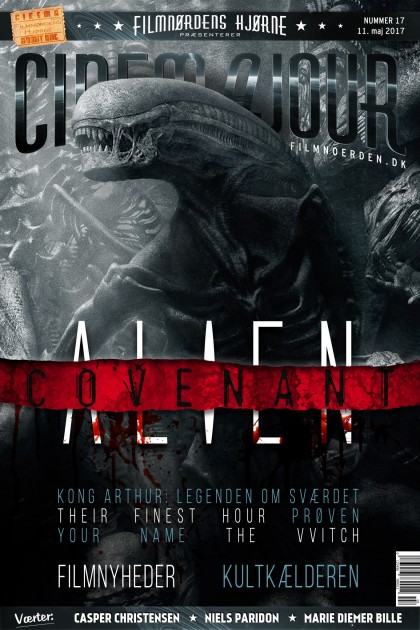 Cinemajour nr. 17 (Alien: Covenant, King Arthur, Their Finest Hour, m.m.)