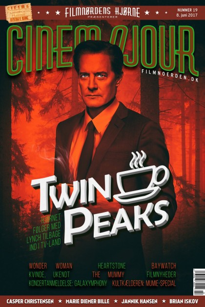 Cinemajour nr. 19 (Twin Peaks, Wonder Woman, The Mummy, m.m.)