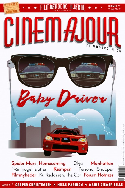 Cinemajour nr. 21 (Baby Driver, Spider-Man: Homecoming, Okja, m.m.)