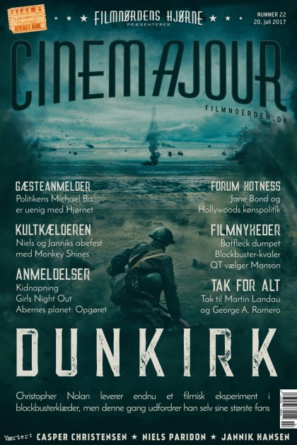 Cinemajour nr. 22 (Dunkirk, Abernes Planet: Opgøret, Kidnapning, Girls Night Out)