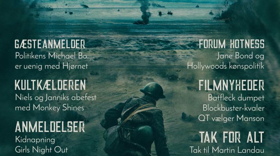 Cinemajour nr. 22 (Dunkirk, Abernes Planet: Opgøret, Kidnapning, Girls Night Out)