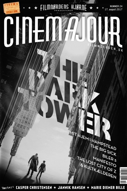 Cinemajour nr. 24 (The Dark Tower, The Big Sick, Biler 3, Mit hjem i Hampstead, m.m.)