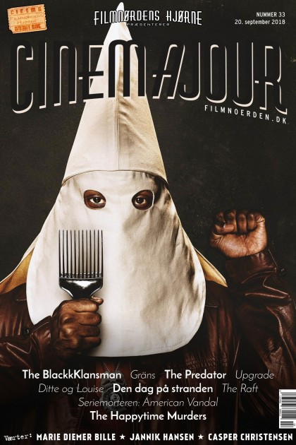 Cinemajour nr. 33 (BlackkKlansman, The Predator, Gräns, m.m.)
