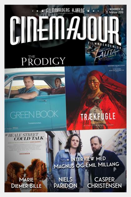 Cinemajour nr. 38 (Green Book, Alita, Emil & Magnus Millang, Trækfugle, m.m.)