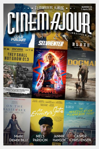 Cinemajour nr. 39 (Captain Marvel, Selvhenter, Cold Pursuit, Dogman, m.m.)
