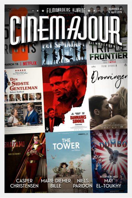 Cinemajour nr. 41 (Danmarks sønner, Dronningen, Den sidste gentleman, Shazam!, m.m.)