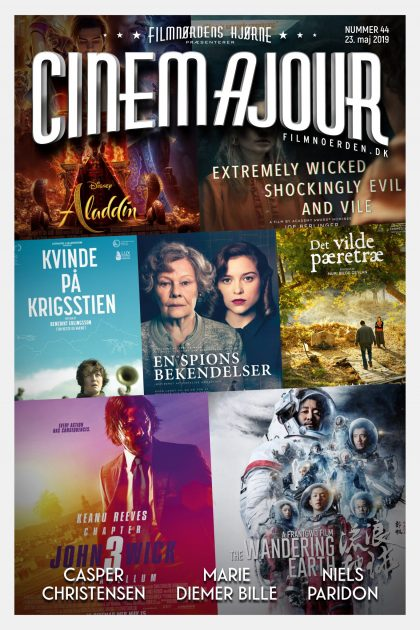 Cinemajour nr. 44 (John Wick 3, Aladdin, The Wandering Earth, m.m.)