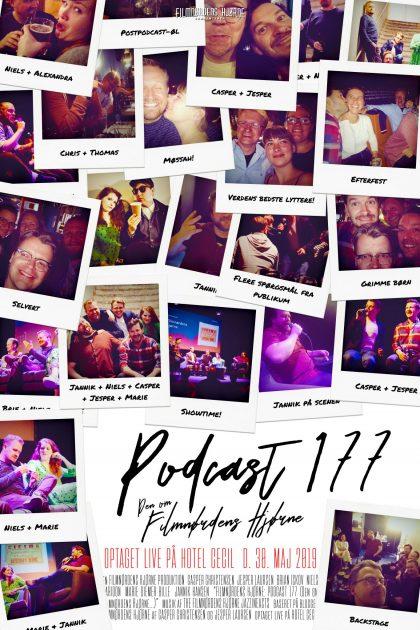 Podcast 177 (Den om Filmnørdens Hjørne... Live)