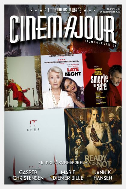 Cinemajour nr. 50 (It del 2, Ready or Not, Late Night, m.m.)