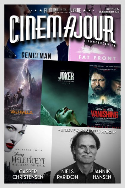 Cinemajour nr. 52 (Joker, Valhalla, The Vanishing, m.m.)
