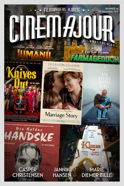 Cinemajour nr. 56 (Marriage Story, Knives Out, Den gyldne handske, m.m.)