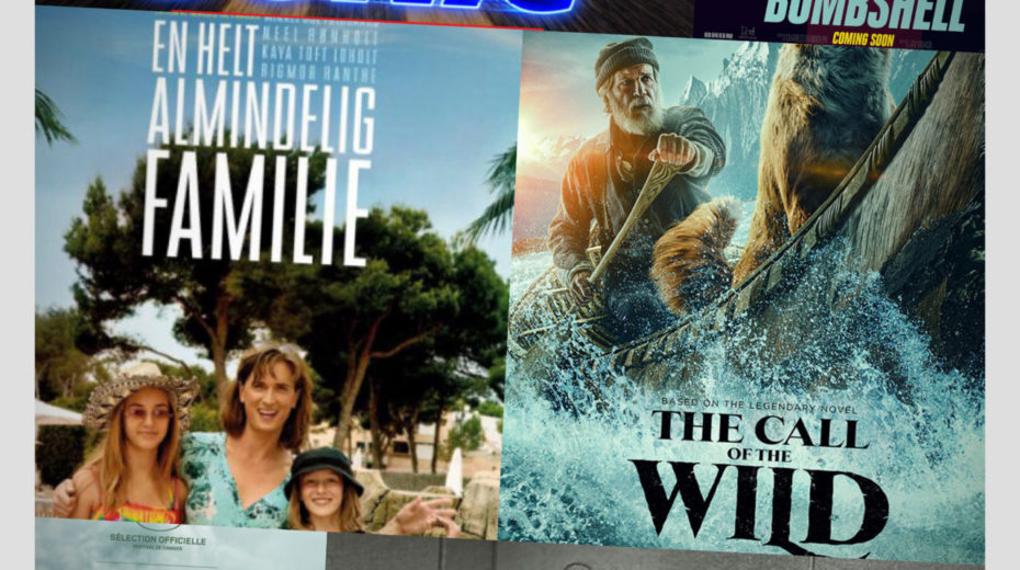Cinemajour nr. 60 (Bombshell, The Call of the Wild, A Hidden Life, m.m.)