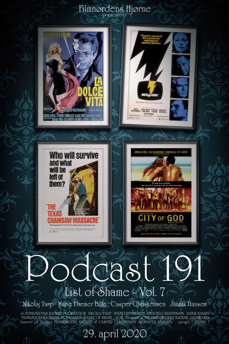 Podcast 191 (List of Shame - Vol. 7)