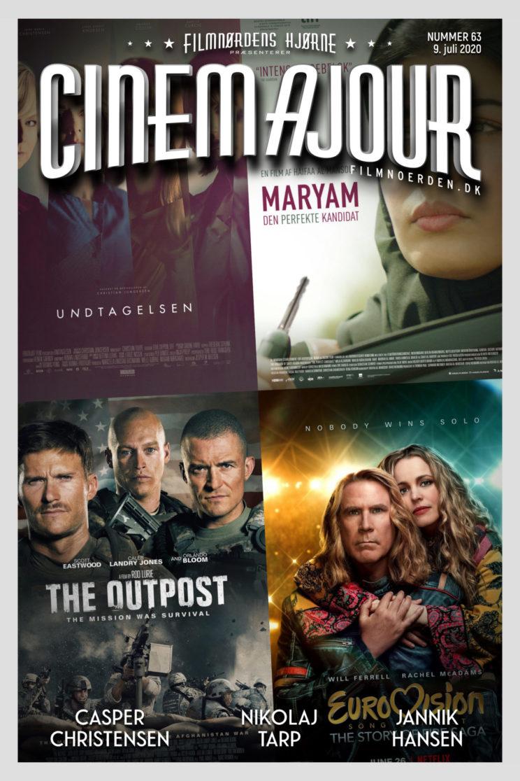 Cinemajour nr. 63 (Eurovision, Undtagelsen, The Outpost, m.m.)