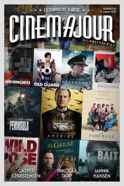 Cinemajour nr. 64 (Vores mand i Amerika, Peninsula, Bait, Old Guard, m.m.)