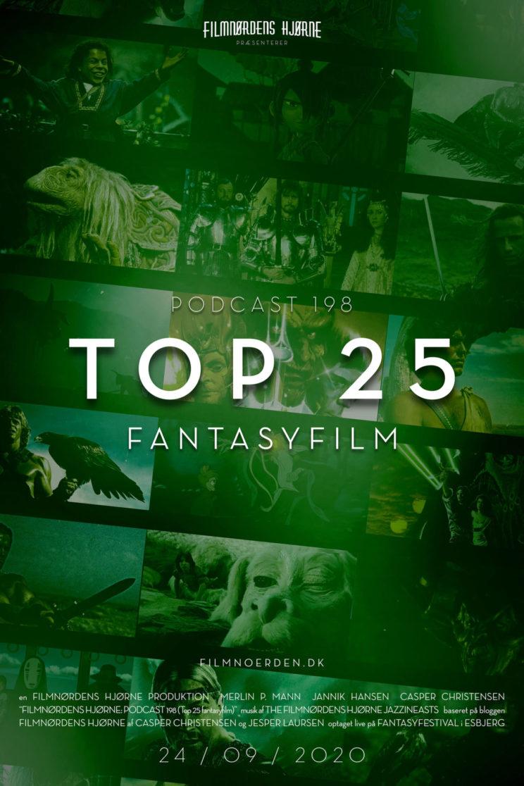 Podcast 198 (Top 25 Fantasyfilm)