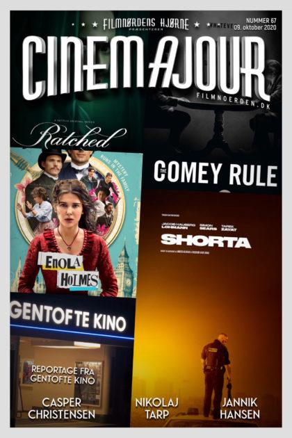 Cinemajour 67 (Shorta, Gentofte Kino, Enola Holmes, m.m.)