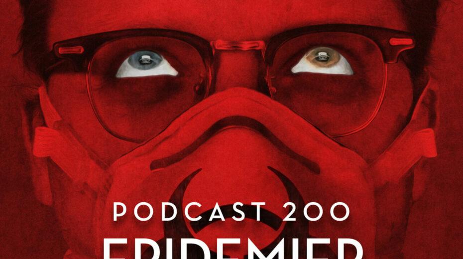 Podcast 200 (Epidemier i film- og billedkunsten)
