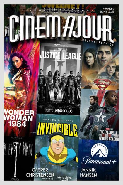 Cinemajour 71 (Superhelte-special: Wonder Woman 1984, Zack Snyder's Justice League, m.m.)