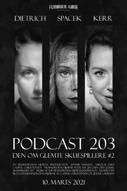 Podcast 203 (Den om glemte skuespillere #2)